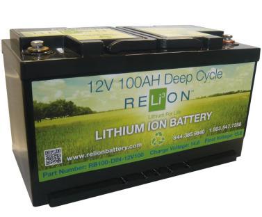 Lithium Eisen Phosphat (LiFePo4) Batterie 12V 100Ah