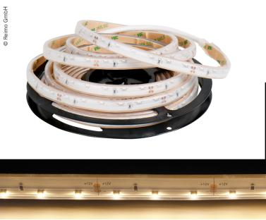 12V LED-Band, sideview, IP67, 7,2W/m, 3000K, 60LEDs/m