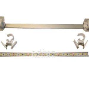 LED Markisenleuchte 500mm 30 SMD 6W mit Kabel/Stecker IP65, 480lm