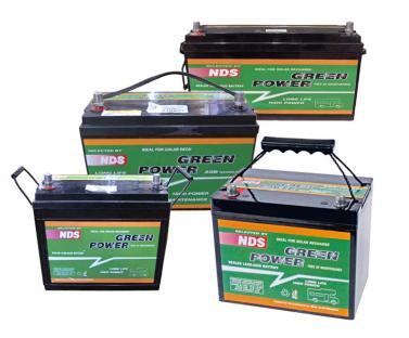 Green Power AGM Batterie 250AH