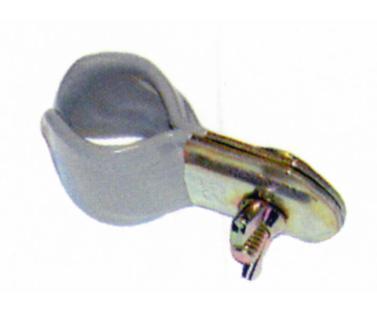Rohrschelle gummiert 25-28mm  2 St�ck