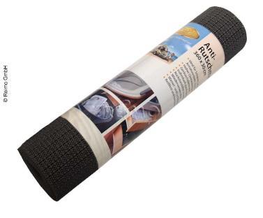 Antirutschmatte 30 x 360 cm, schwarz, waschbar