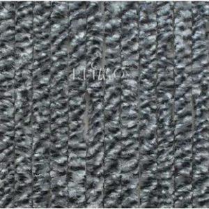 Flauschvorhang 56x205  grau-wei�-schwarz Design