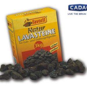 Lavasteine f�r Gasgrills, 3 kg-Pack, TOP QUALIT�T