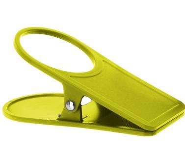 Gimex Glas-u.Getr�nkehalter lime -Tisch-Clip-