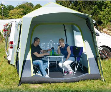 Buszelt Premium Quick 240x240cm, H�he 210cm (Schnellaufbau)
