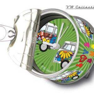 VW Collection MyClock LoveBus ,magnetisch,�8,5cm,H�he 5cm