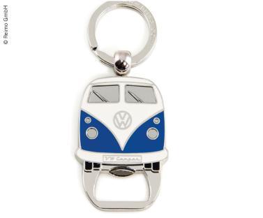 VW Collection Schl�sselanh�nger mit Flaschen�ffner, blau