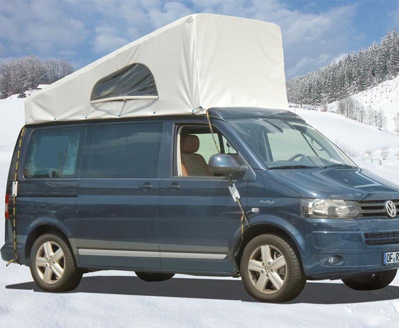 Wetterschutz für Schlafdach VW T5/6 SCA vorne hoch ab 2013