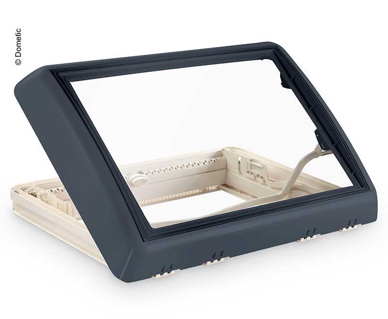 Midi-Heki Style 700x500mm grau Bügel ohne Zwangsbelüftung