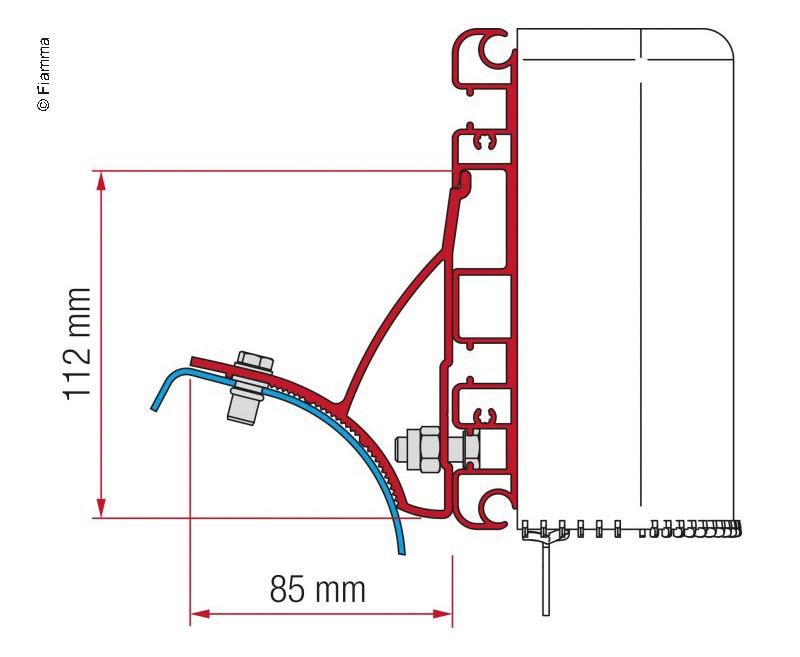 Adapter Kit Compass für Renault Trafic ab 2001 bis 2015