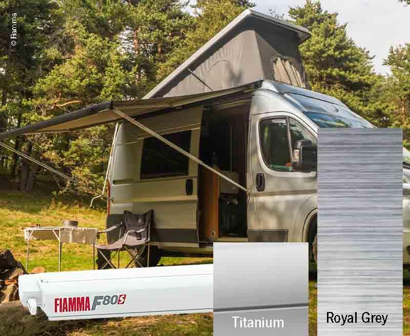 Fiamma F80S Dachmarkise 2,9m, für Vans und Wohnmobile
