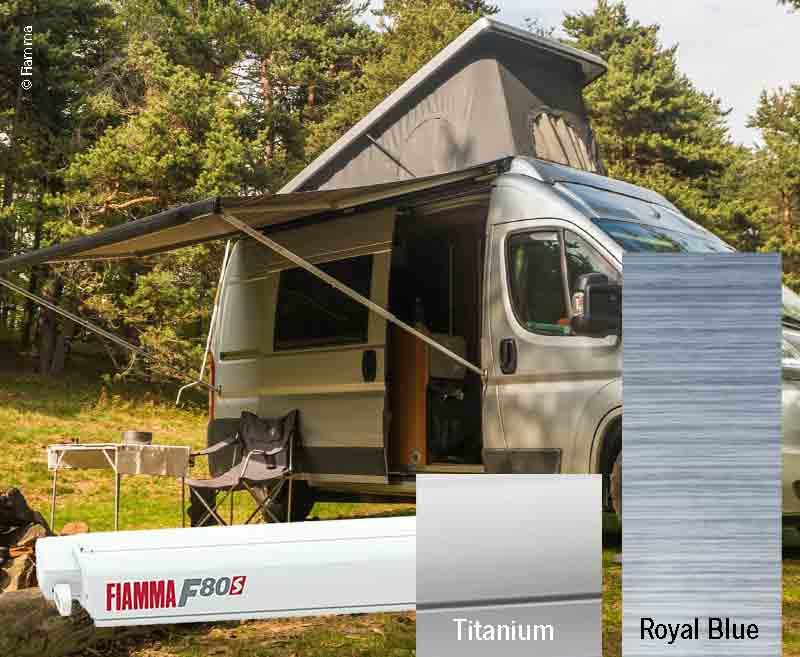 Fiamma F80S Dachmarkise 4,0m, für Vans und Wohnmobile