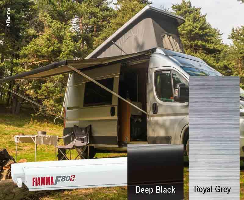 Fiamma F80S Dachmarkise 4,5m, für Vans und Wohnmobile