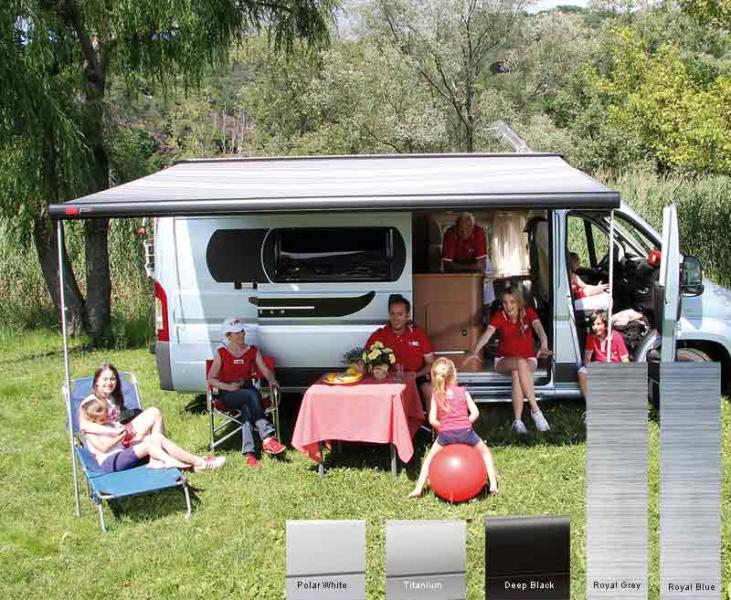 Fiamma F65S Dachmarkise 4,0m, für Vans und Wohnmobile