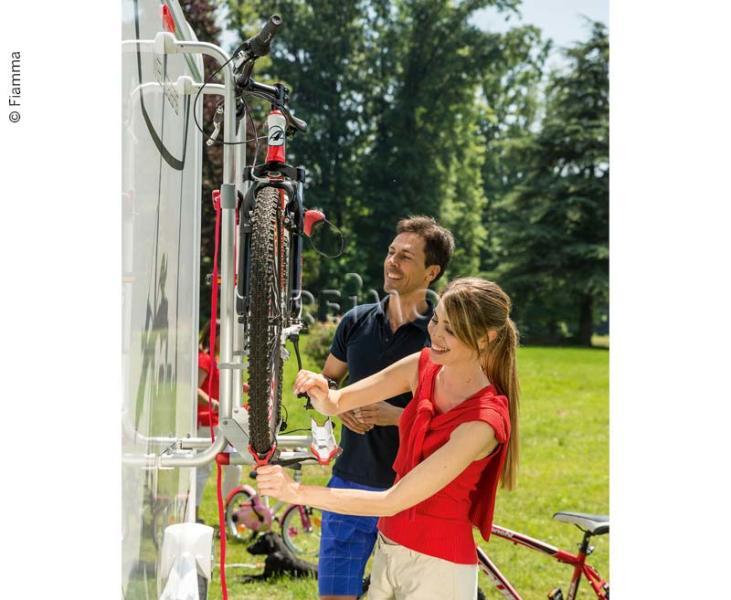 Fahradträger für Reisemobile für 2 Fahrräder