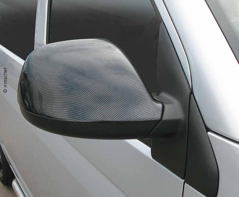 Spiegelklappe Carbon Look für VW T6