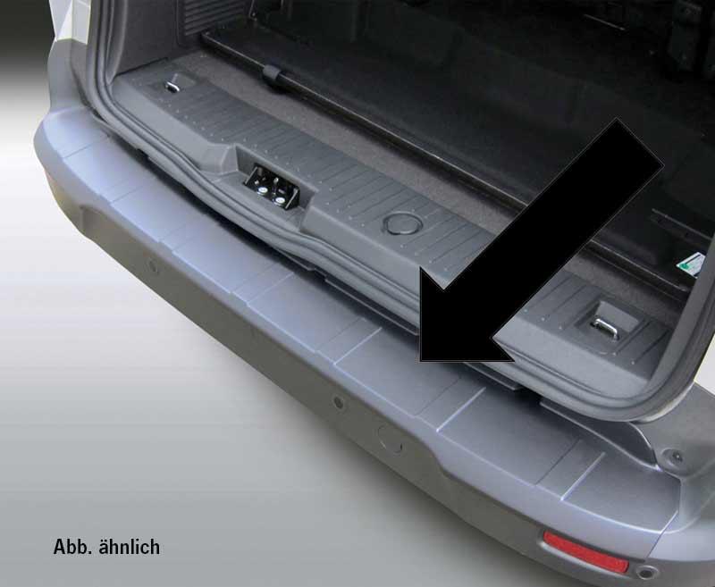 ABS-Ladekantenschutz Ford Transit Custom, schwarz