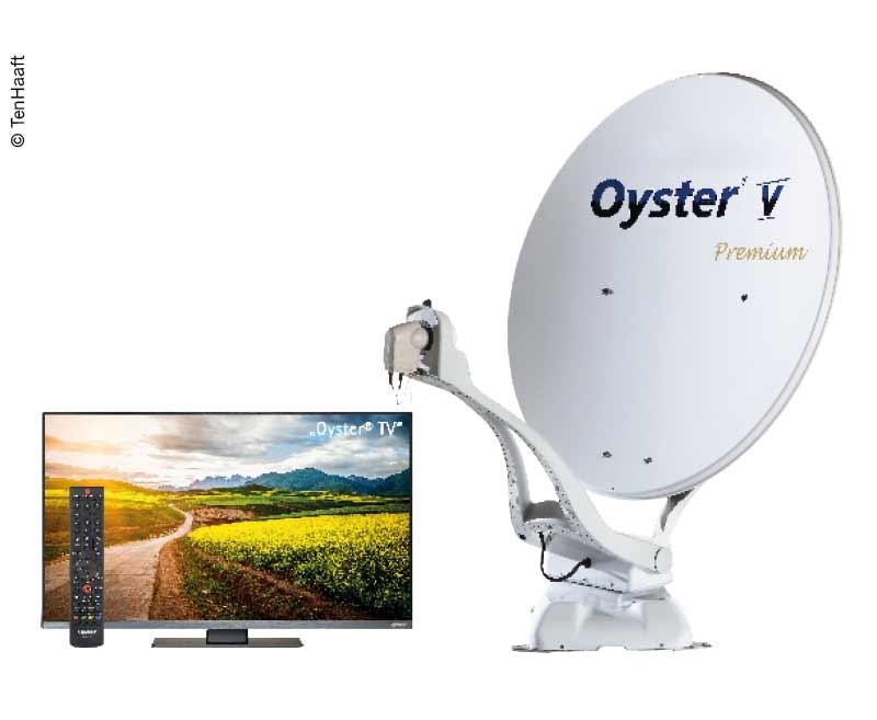 """Oyster® V Sat-Anlage 85 SKEW Premium inkl. 24"""" Oyster® TV"""