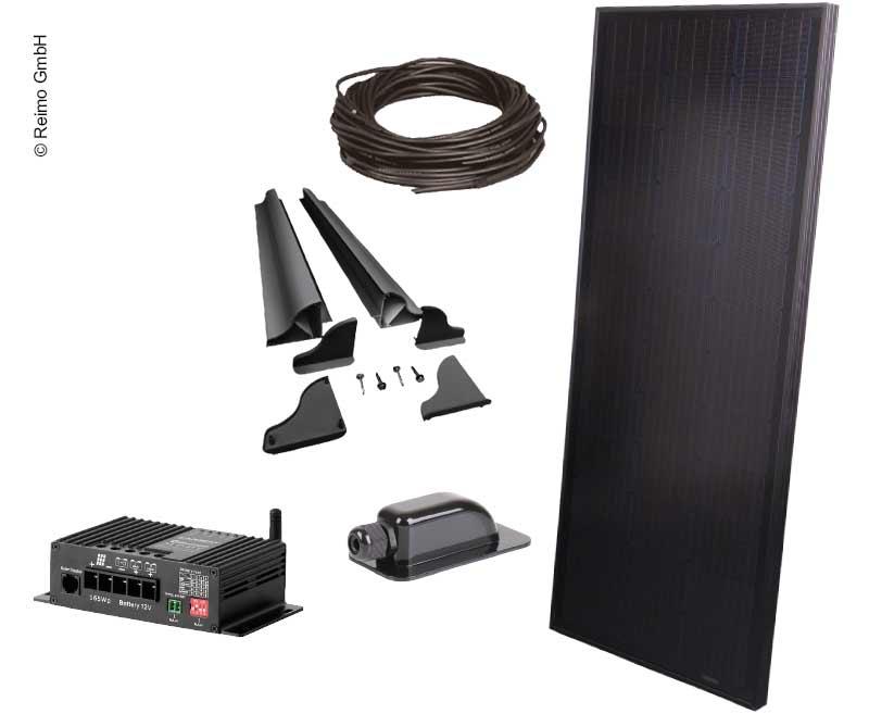 Solar-Komplettset 100W Full-Black