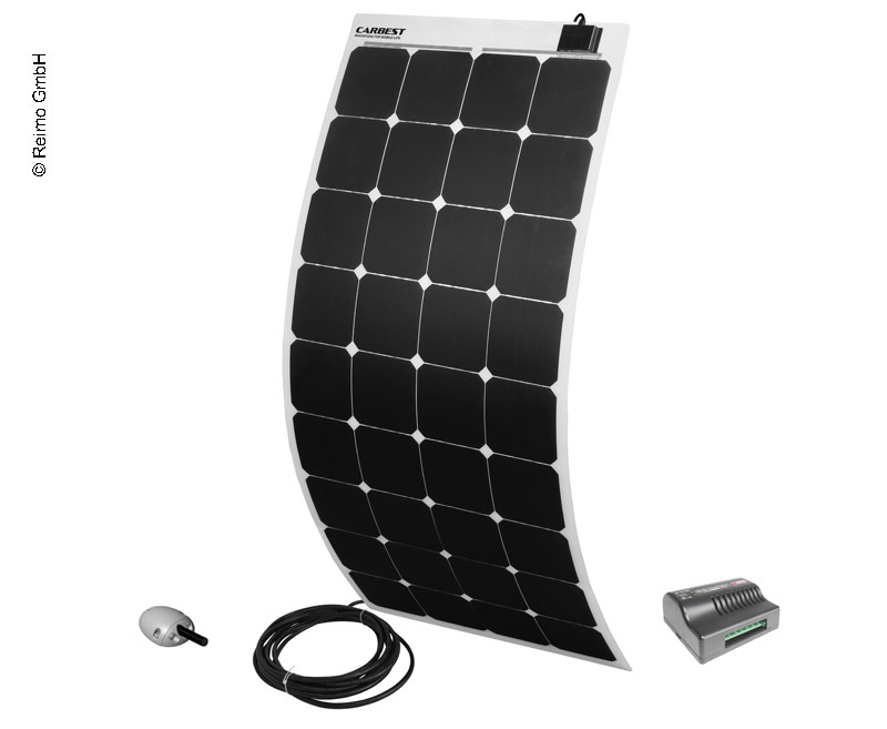 Solarset »Power Panel Flex 130« von Carbest 12V/130W, Quadrat, weiß