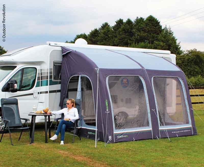 Aufblasbares Caravan Teilzelt E-Sport Air 325 XL