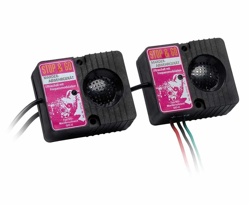 Marder Stop&Go, 2 Ultraschall-Lautsprecher