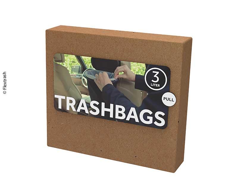 Flextrash Mülleimerbeutel, Size S, biologisch abbaubares Material