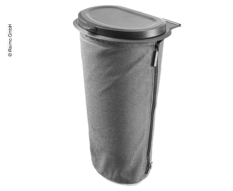 Flextrash Mülleimer, 5 Liter, grau