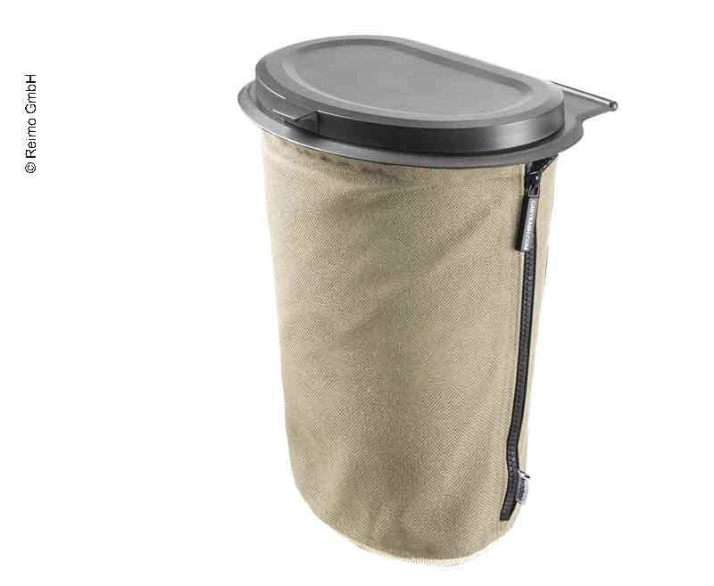 Flextrash Mülleimer, 9 Liter, creme-beige