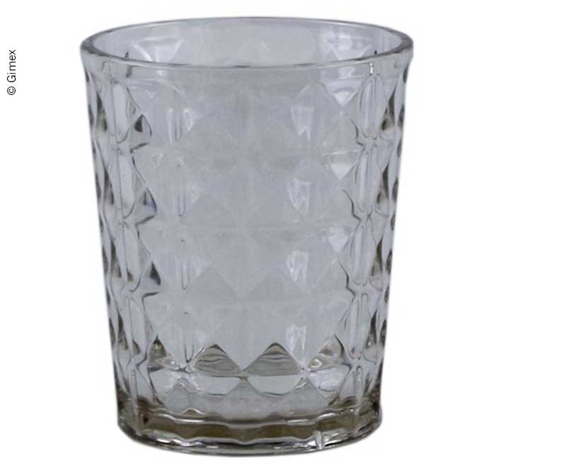 Gimex Trinkglas STONE LINE SAND, 480ml, Wasserglas