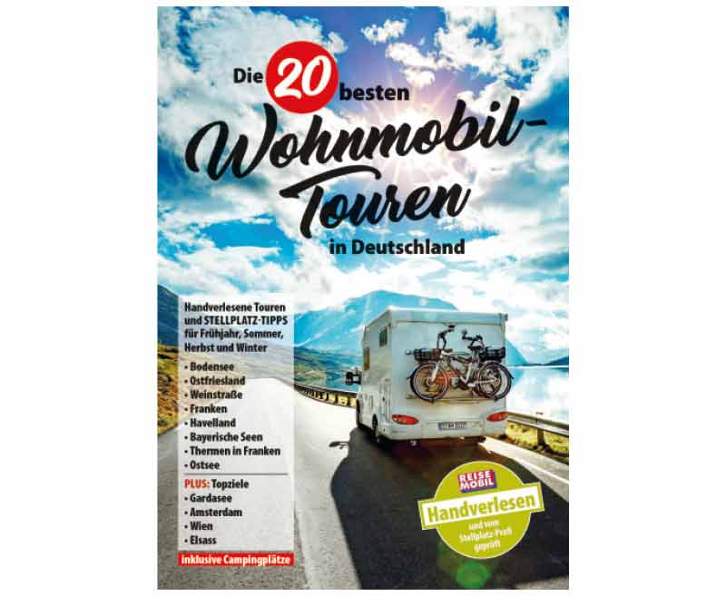 Die 20 besten Wohnmobiltouren in Deutschland
