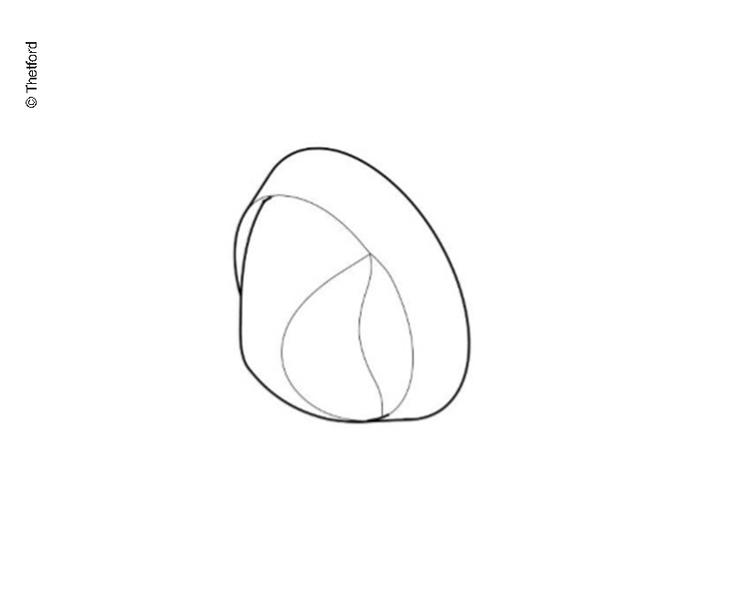 Drehknopf für Kocher 3Stk