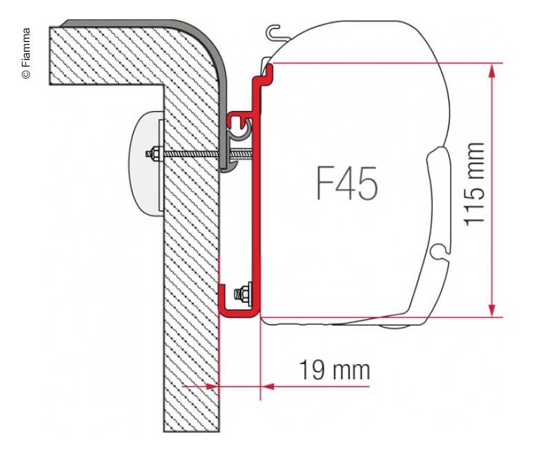 Adapter F45 Rapido 400