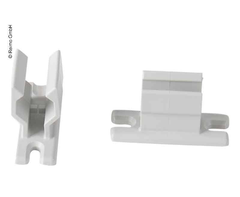2 Halter für Markisenkurbel D14mm+D20mm