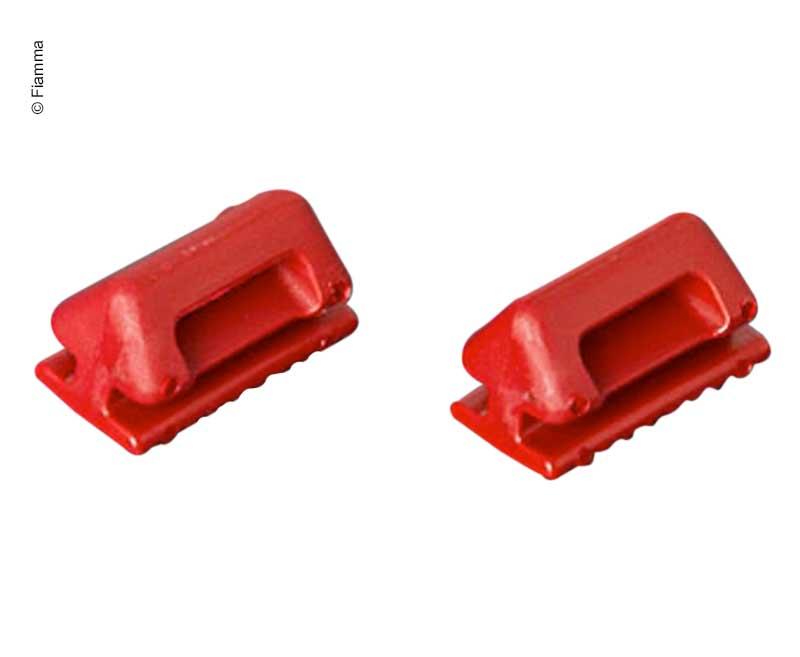 Riemenschlitten rot 2Stk