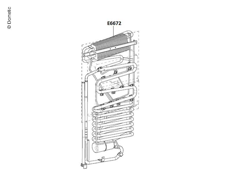Aggregat Kühlschrank