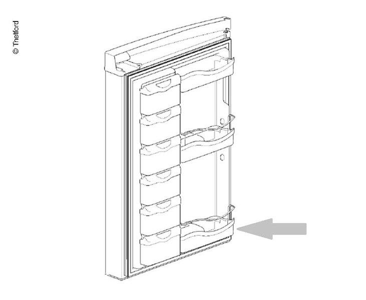 Türfach Kühlschrank N3115