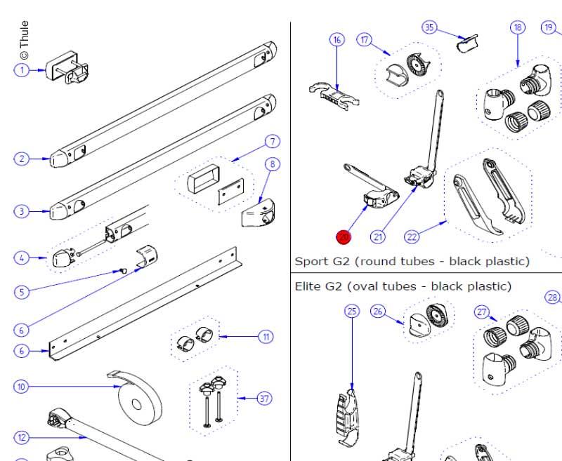 Platform Lock Vertical (2x)