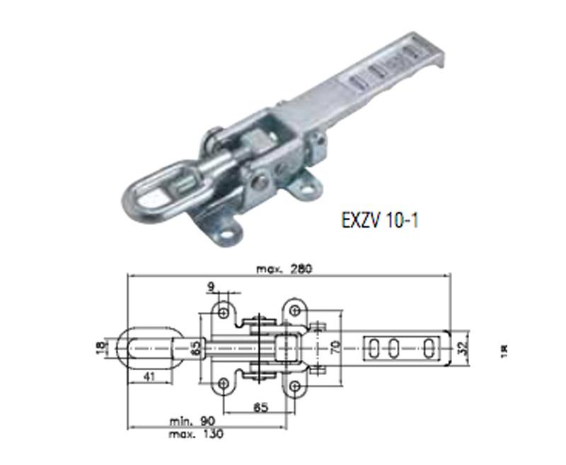 Winterhoff Exzenterverschluss EXZV 10-1