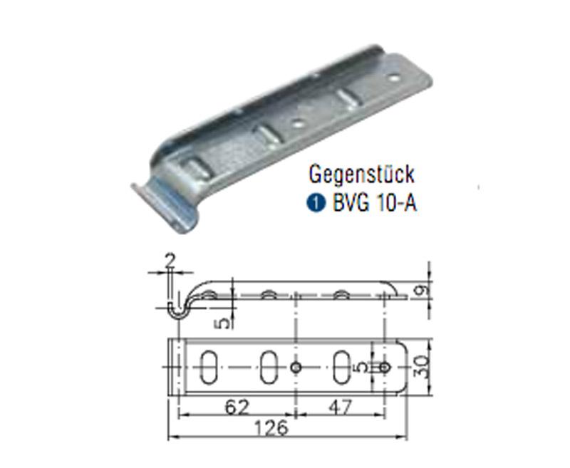 Winterhoff Gegenstück Bordwandverschluss BVG 10-A