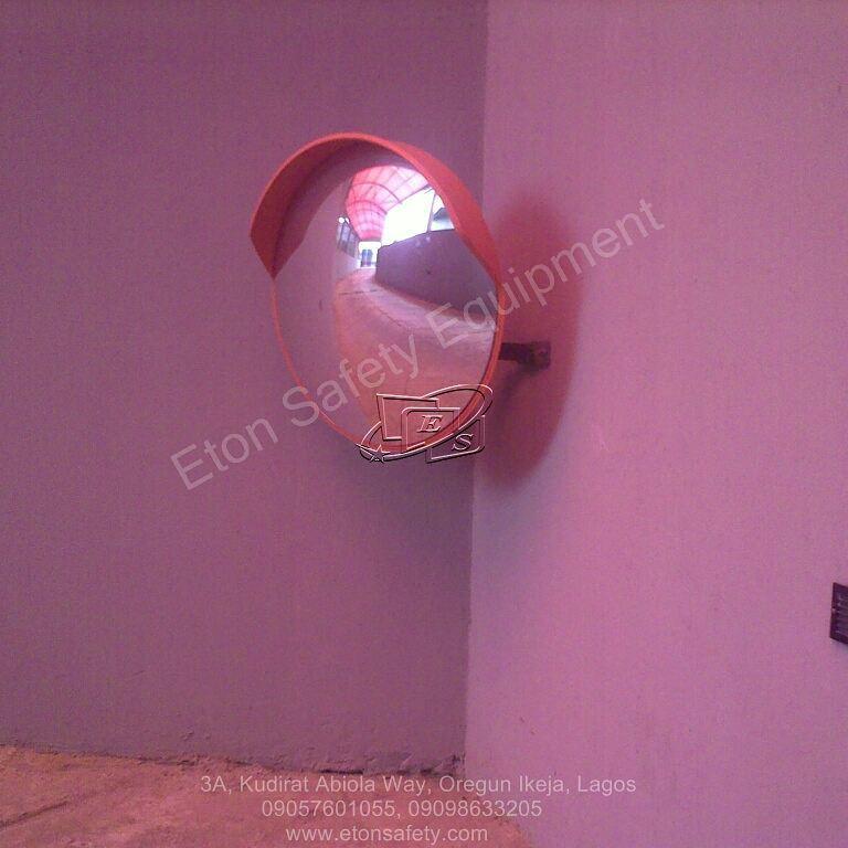 Installation of 80cm Convex Mirror at Ibis Hotel, Ikeja Lagos