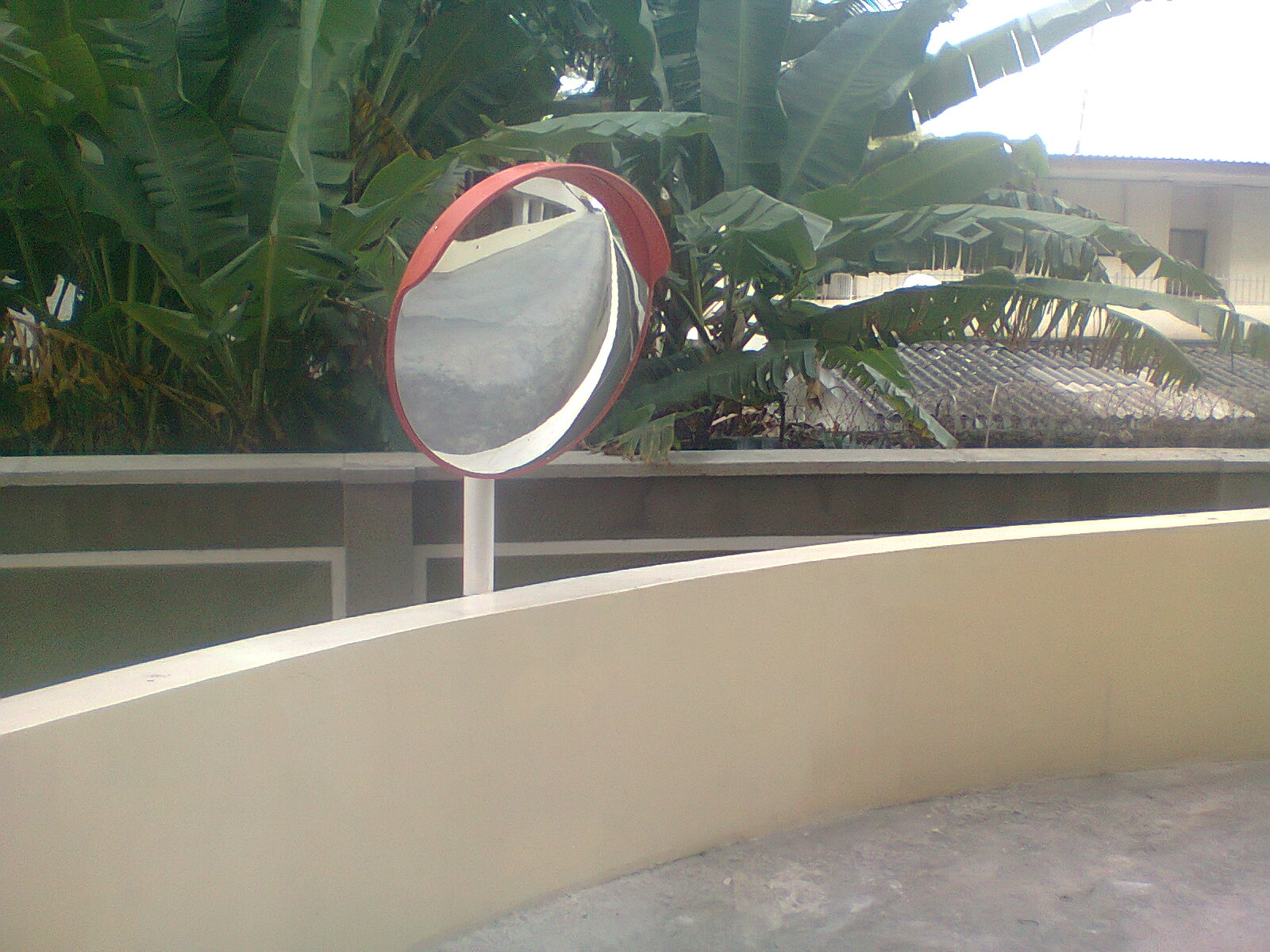 Installation of 80cm Convex Mirror at Mansard Place, V.I Lagos