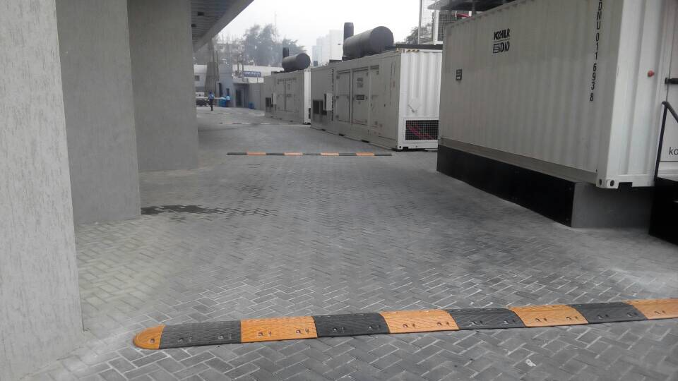 Speed Bump Installation at Eko Maintenance, Victoria Island, Lagos
