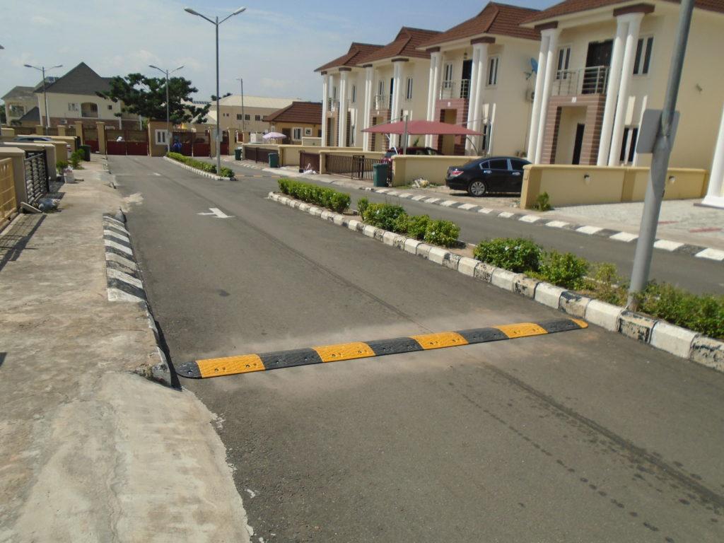Speed Bump Installation Flowergate Estate, Abuja