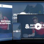 Tischtennis Videotraining – MIT Material/Abwehr