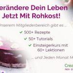 CreateRawVision Mitgliederbereich (Rohkost)