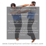 Kampfkunst – online – lernen
