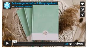 Schwangerschafts- und Babytagebuch