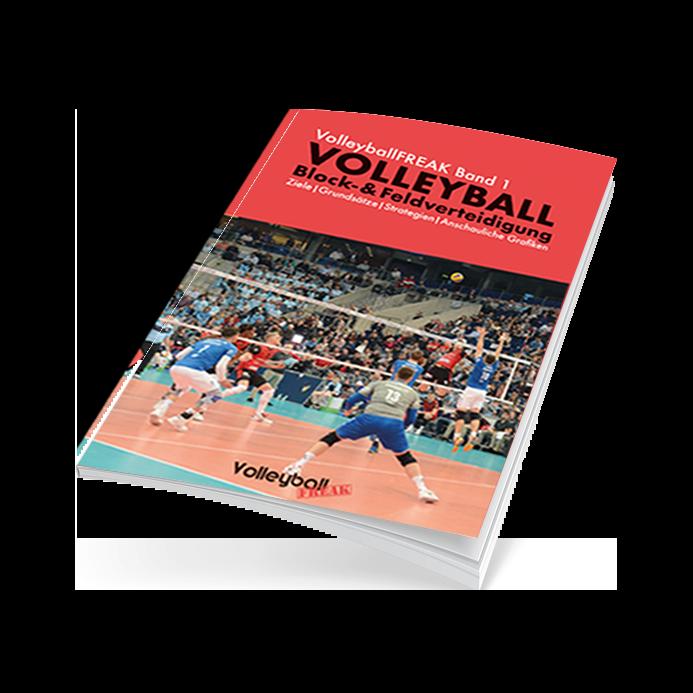 Volleyball-E-Book: Block- und Feldverteidigung